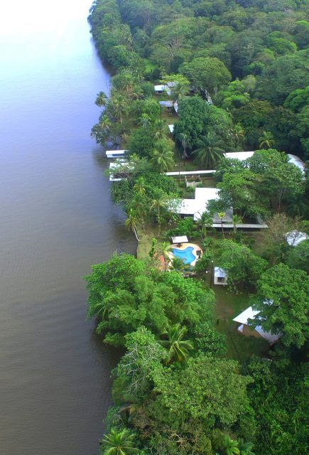 What's under the waters of the Tortuguero's water canals?